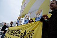 Aktionstag gegen Versuchstierhandel durch Air France