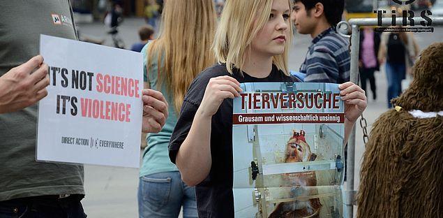Internationaler Aktionstag gegen Tierversuche